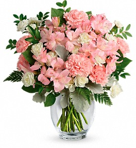 Teleflora's Whisper Soft Bouquet in Fredericton NB, Main Street Floral Gallery