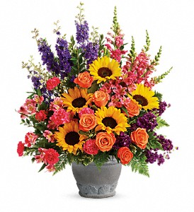 Teleflora's Hues Of Hope Bouquet in Naples FL, Gene's 5th Ave Florist