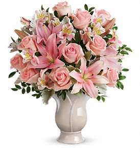 Teleflora's Soft And Tender Bouquet in San Clemente CA, Beach City Florist