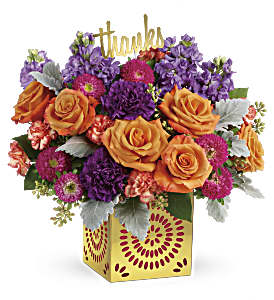 Teleflora's Bold Beauty Bouquet in Los Angeles CA, RTI Tech Lab