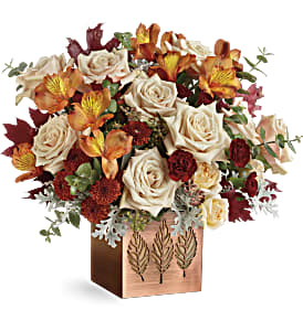 Teleflora's Shimmering Leaves Bouquet in Los Angeles CA, RTI Tech Lab