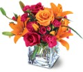 Teleflora's Uniquely Chic Bouquet in Houston TX Village Greenery & Flowers