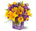 Teleflora's Morning Sunrise Bouquet in Warwick RI Yard Works Floral, Gift & Garden