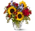 Sunny Skies in San Clemente CA Beach City Florist