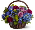 Twilight Garden Basket in New York NY Fellan Florists Floral Galleria