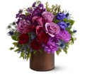 Teleflora's Plum Gorgeous in Salt Lake City UT Especially For You