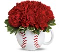 Teleflora's Play Ball Bouquet in Oklahoma City OK Array of Flowers & Gifts
