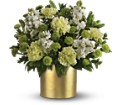 Teleflora's Touch of Gold Bouquet in Liverpool NY Creative Florist