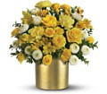Teleflora's Golden Sunshine Bouquet in Liverpool NY Creative Florist