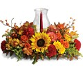 Delight-fall Centerpiece in San Clemente CA Beach City Florist