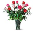 A Dozen Multi-Colored Roses in Sayville NY Sayville Flowers Inc
