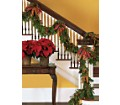 Staircase Garland in New York NY Fellan Florists Floral Galleria