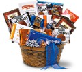 Chocolate Lover's Basket in Hollywood FL Al's Florist & Gifts