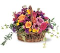 Garden Gathering Basket in Oklahoma City OK Array of Flowers & Gifts