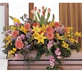 Blooming Glory Casket Spray in Oklahoma City OK Array of Flowers & Gifts