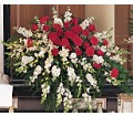 Cherished Moments Casket Spray in Oklahoma City OK Array of Flowers & Gifts