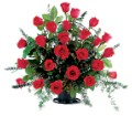 Blooming Red Roses Basket in Little Rock AR Tipton & Hurst, Inc.