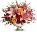 Teleflora's Beauty In Bloom in flower shops MD Flowers on Base