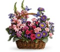 Country Basket Blooms in Mount Morris MI June's Floral Company & Fruit Bouquets