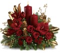 Candlelit Christmas in San Clemente CA Beach City Florist