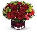 Teleflora's Merry & Bright in Fairfax VA Greensleeves Florist