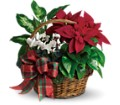 Holiday Homecoming Basket in White Stone VA Country Cottage