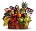 Bon Vivant Gourmet Basket in Charleston SC Bird's Nest Florist & Gifts