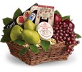 Delicious Delights Basket in Royersford PA Three Peas In A Pod Florist