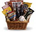 Take Me Out to the Ballgame Basket in Sacramento CA Arden Park Florist & Gift Gallery