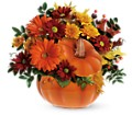 Teleflora's Country Pumpkin in Los Angeles CA RTI Tech Lab
