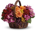 Sending Joy in Columbus IN Fisher's Flower Basket