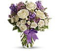 Teleflora's Enchanted Cottage in Thornhill ON Wisteria Floral Design