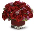 Never Let Go by Teleflora - 18 Red Roses in Dry Ridge KY Ivy Leaf Florist