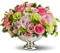 Teleflora's Garden Rhapsody Centerpiece in Oklahoma City OK Array of Flowers & Gifts