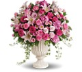 Passionate Pink Garden Arrangement in Oklahoma City OK Capitol Hill Florist and Gifts