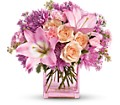 Teleflora's Possibly Pink in Oklahoma City OK Array of Flowers & Gifts