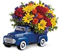 Teleflora's '48 Ford Pickup Bouquet in Orlando FL Harry's Famous Flowers