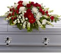 Strength and Wisdom Casket Spray in Jacksonville FL Deerwood Florist
