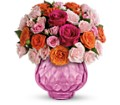 Teleflora's Sweet Fire Bouquet with Roses in Sapulpa OK Neal & Jean's Flowers & Gifts, Inc.