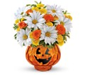 Teleflora's Glass-O'-Lantern Bouquet in San Clemente CA Beach City Florist