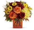 Teleflora's Autumn Expression in Muskogee OK Cagle's Flowers & Gifts