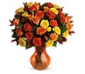 Teleflora's Fabulous Fall Roses in Bowmanville ON Bev's Flowers