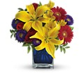 Teleflora's Blue Caribbean in Mitchell SD Nepstads Flowers And Gifts