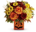 Teleflora's Halloween Glow in Oklahoma City OK Array of Flowers & Gifts