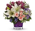 Teleflora's Garden Romance in Oakland MD Green Acres Flower Basket