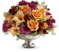 Teleflora's Elegant Traditions Centerpiece in Oklahoma City OK Array of Flowers & Gifts