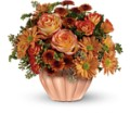 Teleflora's Joyful Hearth Bouquet in Liverpool NY Creative Florist