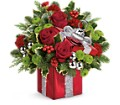 Teleflora's Gift Wrapped Bouquet in Evansville IN Cottage Florist & Gifts