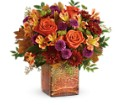 Teleflora's Golden Amber Bouquet in Reading PA Heck Bros Florist