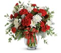 Teleflora's Holiday Shine Bouquet in Neenah WI Sterling Gardens
